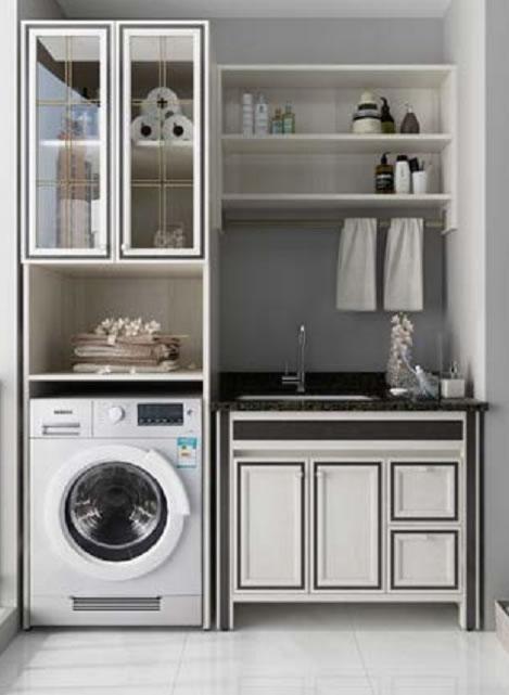 全铝家居洗衣柜-2