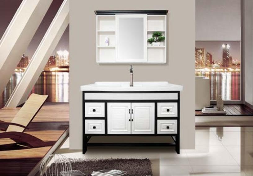 全铝家家居浴室柜-4