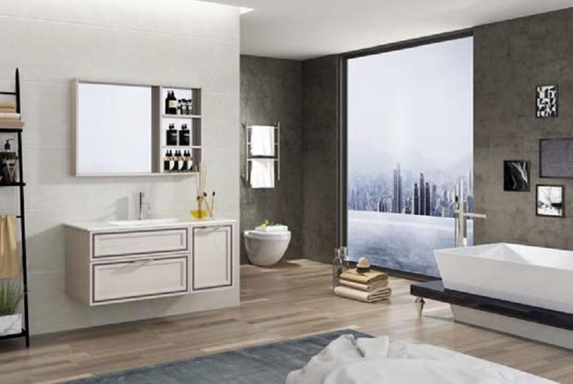全铝家居浴室柜-2