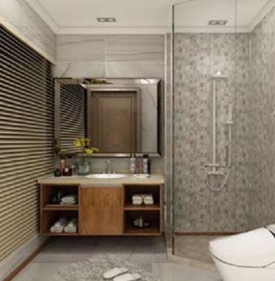 全铝家家居浴室柜-5