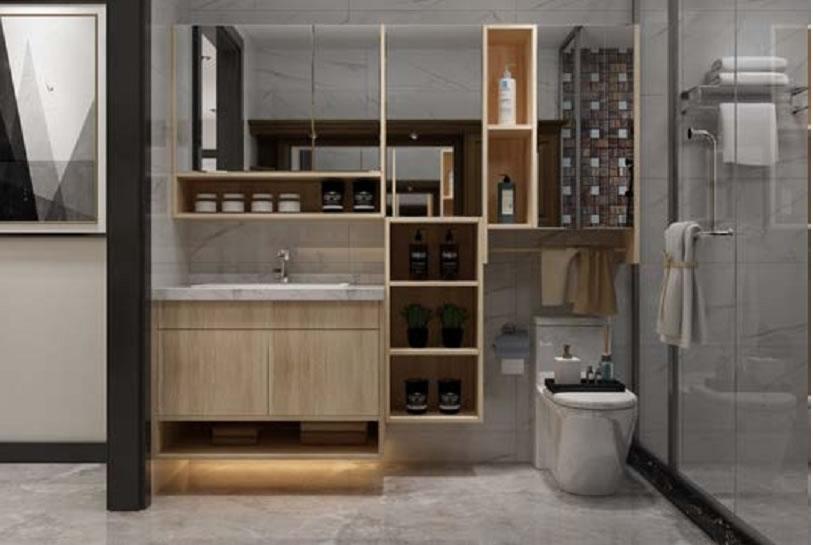 全铝家居浴室柜-1